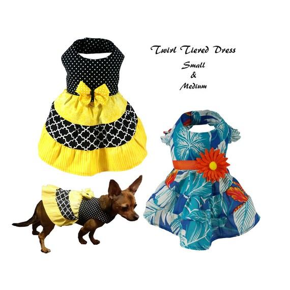 Dog Dress Pattern Dog Clothes Sewing Pattern Pdf Tutorial