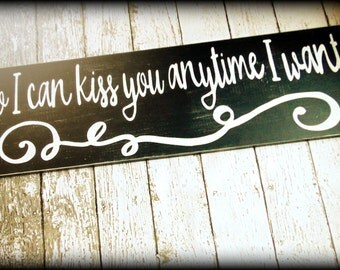 Large Wedding Sign - Custom Wedding Decor - Gallery Wall Sign - Rustic Wooden Love Sign - Romantic Quote - Bedroom Decor - Handmade Sign