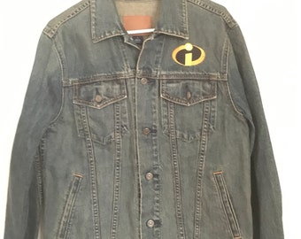 The Incredibles Jean Jacket