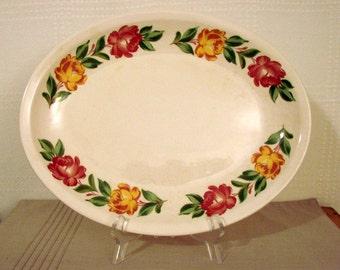 Paden City Pottery > Large Serving Platter