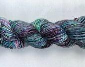 Lit Review - Speckled yarn - Variegated yarn - Hand dyed yarn - Merino wool - Nylon - Sock yarn