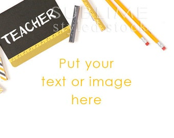 Styled Stock Photography / School Styled / Teacher / Teacher Styled / Stock Photo / Mockup / Back to Shool / Digital Image / StockStyle-703