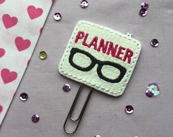 Planner Nerd Paperclip   Planner Supplies   Planner Accessories   Planner Clip   MAMBI Happy Planner   Filofax   Kikki K