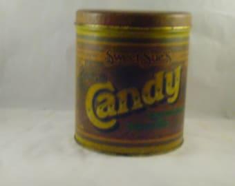 Vintage Ballanoff sweet Sue's candy tin