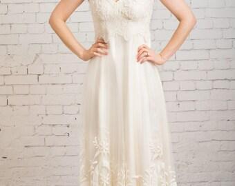Rustic Wedding Dress Boho Casual Simple
