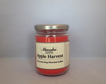 Apple Harvest Soy Candle, 13oz, Mason Jar