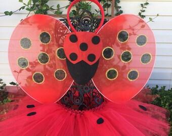 Lady Bug Tutu Costume Halloween Costume