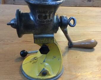 Vintage cast iron Spong 601 food grinder