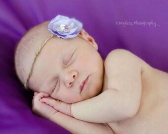 Lavender Lace Wrap Set
