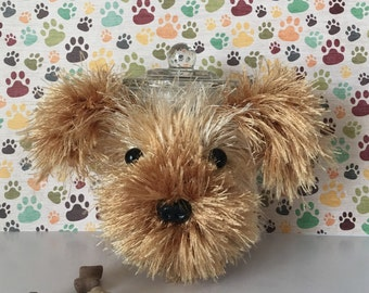 Crazy Dog Lady - Cute Yorkie - Yorkies - Miniature Yorkie - Teacup Yorkie - Yorkie Memorial - Dog Cozy - Fur Mama - Fur Baby - Dog Treat Jar