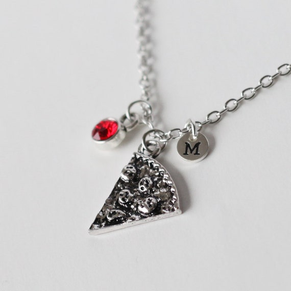 items similar to pizza necklace pizza slice necklace