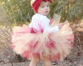 EXTRA FULL Girls Tutu Skirt  Tutu Baby Tutu Girls 1st Birthday Tutu Handmade Extra Full Tutu Skirt Handmade Tutu