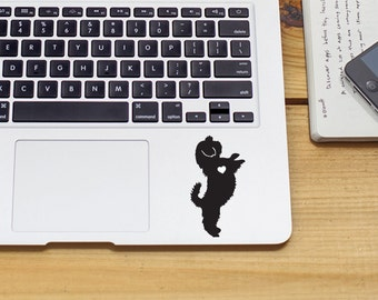 SUMMER SALE! Shih Tzu w/ Heart Car Laptop Vinyl Decal Sticker