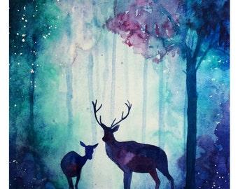 Enchanted Woods Print