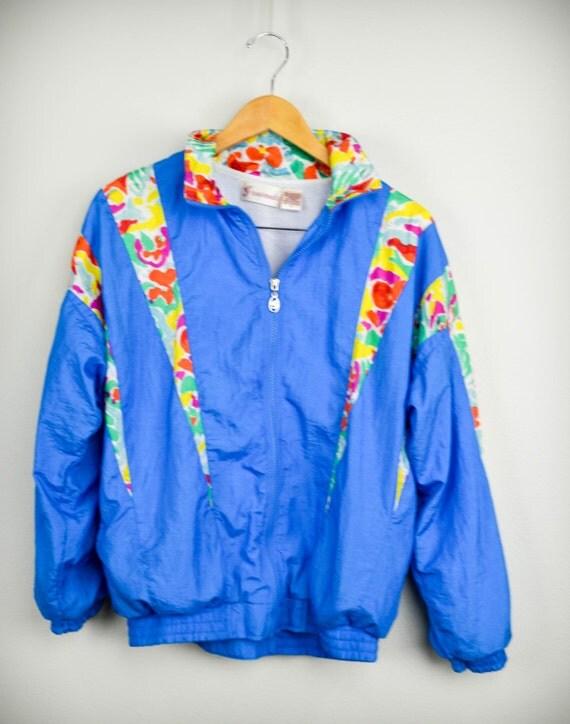 80s windbreaker 80s clothes 80s clothing vintage medium m