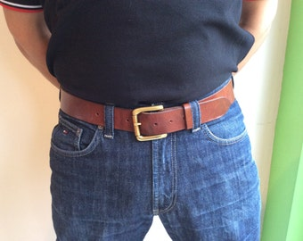 "The best leather belt I have ever had"" - customer quote"