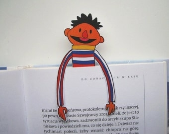 Ernie Sesame Street - bookmark Bert and Ernie Muppets instant download muppet christmas