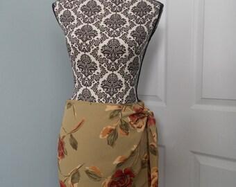 Climbing Roses Wrap Skirt