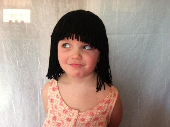 Short Black Cleopatra Wig 77