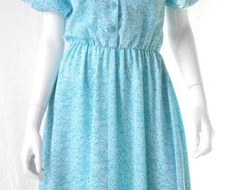 60s vintage house dress