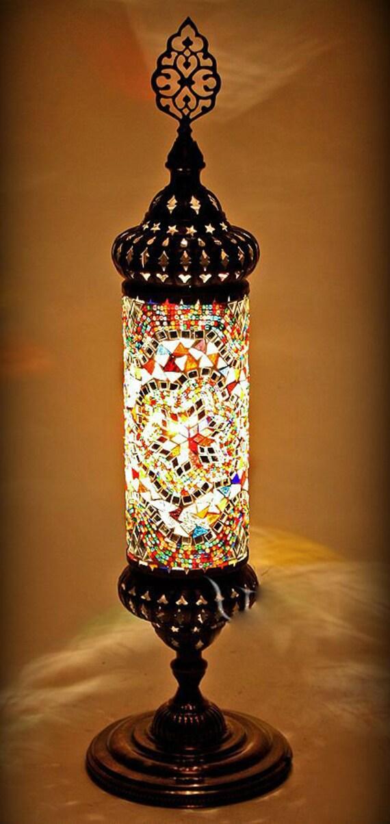 Mosaic Ottoman desk Lampstanding lampstanding
