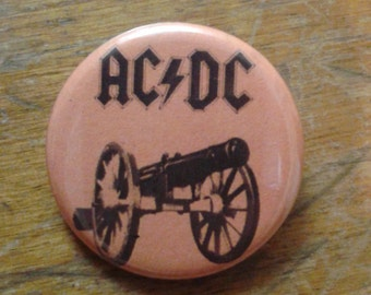 """ACDC 1.25"""" button"""