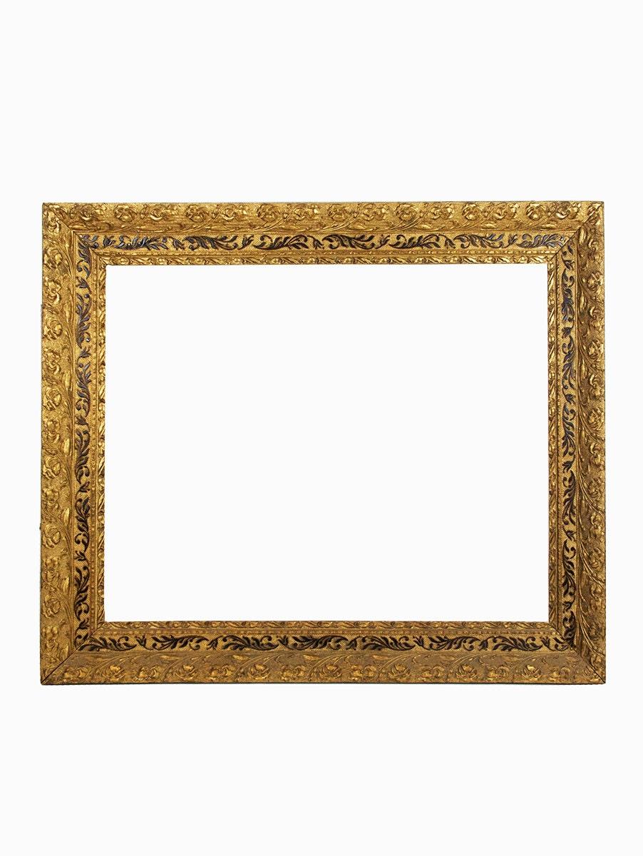 Antique Wood Frame Vintage Wood Frame Large Wood Frame