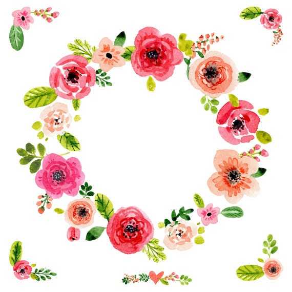 Svg Png Eps Files Floral Ornaments Wreaths Flowers