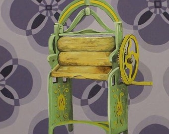 Greetings card: Mother's Mangle Of Marvels