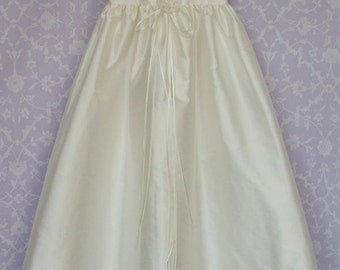 Silk Christening Gown. Madeline by Okika