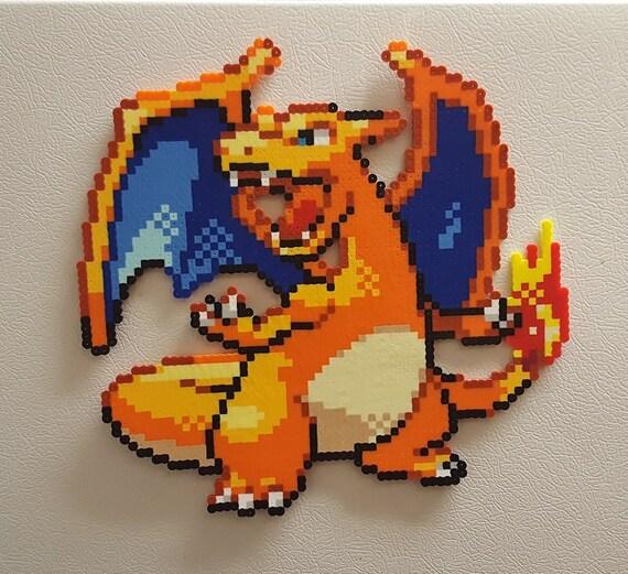 Pixel art 8Bit Charizard ! Minecraft Project