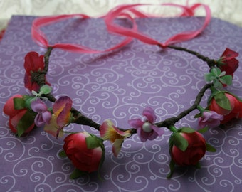 Flower crown  Head band
