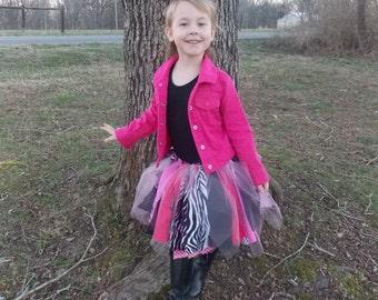 Fabric Strip skirt