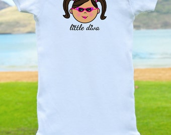 Little Diva Onesie