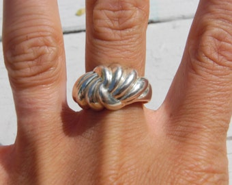 Sterling Silver Ring 925 Size 10 Jewelry