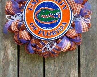 University of Florida Gators Wreath
