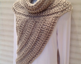 Katniss Inspired Cowl Wrap Top