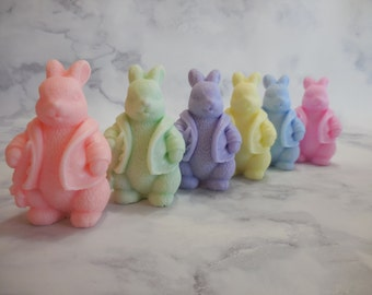 Easter Soap - Bunny Soap - Easter Bunny Soap -  Easter Basket - Artisan Soap - Easter Gifts - Easter Basket Idea - Non Edible Easter Treats