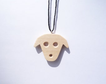 TERRILL TACTILE Maple Puppy Necklace
