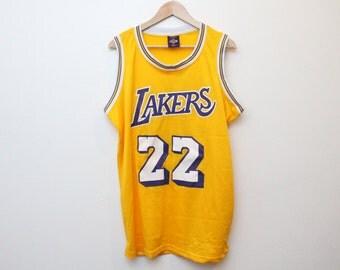Vintage Lakers Jersey / Elgin Baylor Lakers Jersey/ Custom Lakers Jersey / Sample