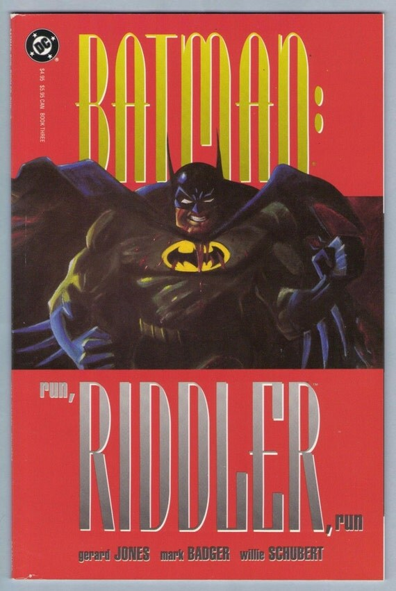 Batman - Run Riddler Run 3 1992 NM- (9.2)