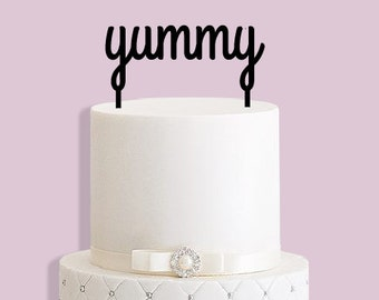 Yummy Cake Topper