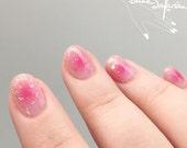 Blush Nails/Cheek Nails Design Water Slide Nail Decals/Nail Tattoos/Nail Stickers