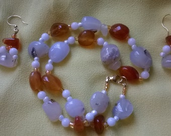 Cornelia and agate set
