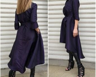 "Elegant Tunic Dress/ Loose Asymmetric Top / Extravagant Dress / Maxi Dress / EXPRESS SHIPPING / ""Sweet Symphony"""