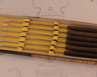 Retro Fondue Forks