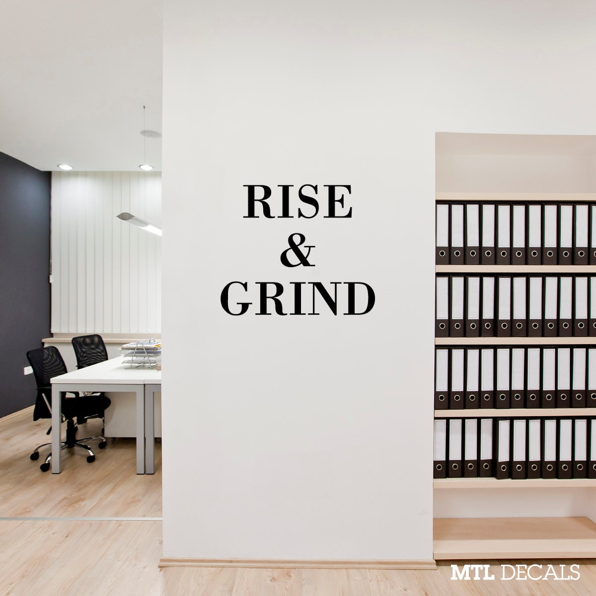 Rise grind wall decal wall sticker wall decor zoom amipublicfo Gallery
