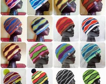 Brainwaves Warm Winter Beanie Hat