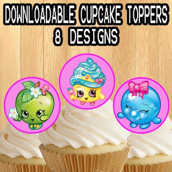 ... Printable Shopkins Cupcake Toppers Picks Shopkin By ...