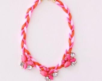 Bubble Gum Girls' Necklace